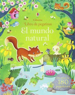 EL MUNDO NATURAL LIBRO DE PEGATINAS