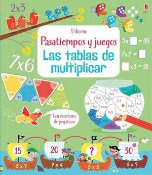 TABLAS DE MULTIPLICAR PASATIEMPOS Y JUEGOS