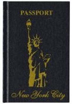 NEW YORK CITY PASSPORT LIBRETA