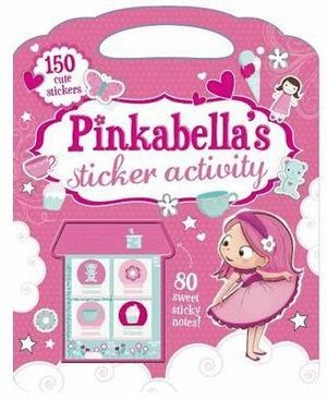 PINKABELL'S STICKER ACTIVITY + PEGATINAS