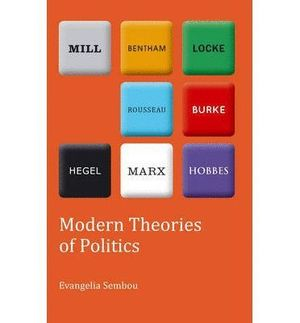 MODERN THEORIES OF POLITICS
