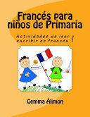 FRANCÉS PARA NIÑOS DE PRIMARIA 1