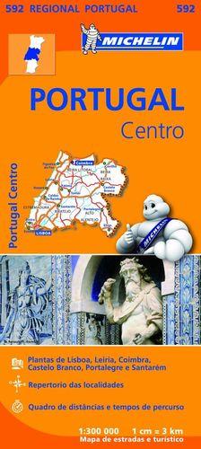 MAPA REGIONAL PORTUGAL CENTRO