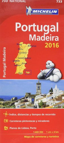 MAPA PORTUGAL MADEIRA NATIONAL 2016