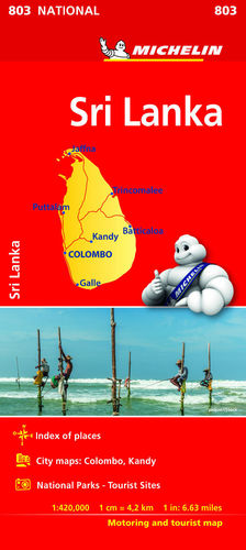 MAPA NATIONAL SRY LANKA