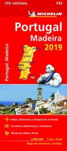 MAPA PORTUGAL MADEIRA 2019 MICHELIN