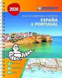 ESPAÑA & PORTUGAL ATLAS DE CARRETERAS Y TURÍSTICO 2020 (ANILLAS)