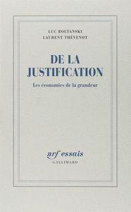 DE LA JUSTIFICATION
