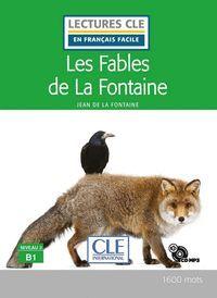 LES FABLES DE LA FONTAINE - NIVEAU 2;A2 - LIVRE + CD AUDIO