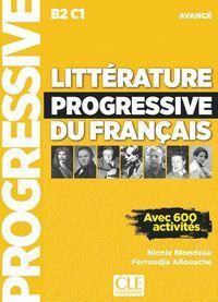 LITTÉRATURE PROGRESSIVE DU FRANÇAIS B2/C1 AVANCE AVEC 600 ACTIVITES