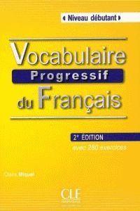 VOCABULAIRE PROGRESSIF DU FRANÇAIS LIVRE+CD AUDIO