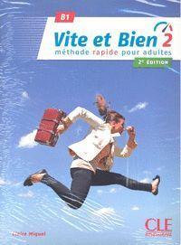 VITE ET BIEN 2 LIVRE + CD AUDIO - NIVEAUX B1 - 2º ÉDITION