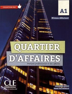 QUARTIER D'AFFAIRES NIVEL A1 LIBRO