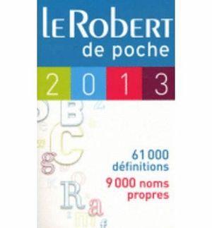 LE ROBERT DE POCHE 2014