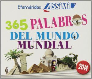 365 PALABRAS DEL MUNDO MUNDIAL 2014