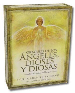 ORACULO DE LOS ANGELES, DIOSES Y DIOSAS (COFRE 45 CARTAS + LIBRO)