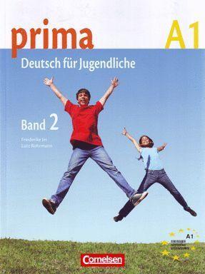 PRIMA A1. BAND 2: SCHULERBUCH