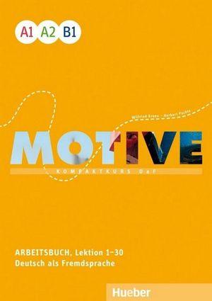 MOTIVE A1 A2 B1 ARBEITSBUCH + CD-AUDIOS EJERCICIOS