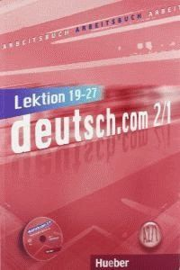 DEUTSCH.COM A2.1 ARBEITSB.(EJERC.)