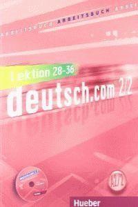 DEUTSCH.COM A2.2 ARBEITSB.(EJERC.)