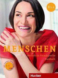 MENSCHEN B1.1.KB+DVD-ROM (L.ALUM.)