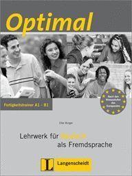 OPTIMAL A1-B1 FERTIGKEITSTRAINER +CD LEHRWERK FUR DEUTSCH FREMDSP