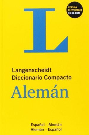 DICCIONARIO COMPACTO ESPAÑOL/ALEMAN+CD