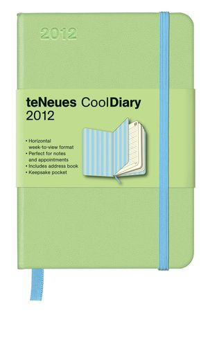 LIGHT GREENSTRIPES BLUE COOL DIARIES WEEKLY 9X13 /