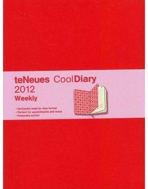RED / ARGYLE ROSE  COOL DIARIES WEEKLY  18X24 /12