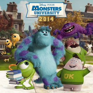 WD, MONSTERS UNIVERSITY - PIXAR - NEW - ONLY AVAIL