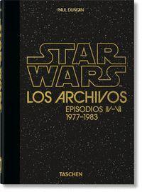 ARCHIVOS DE STAR WARS 1977 1983 40TH ANNIVERSARY E