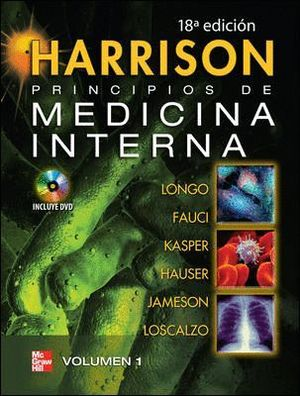HARRISON. PRINCIPIOS DE MEDICINA INTERNA VOL 1