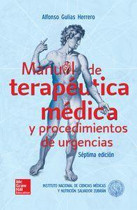 MANUAL DE TERAPEUTICA MEDICA Y PROCEDIMIENTOS DE URGENCIAS