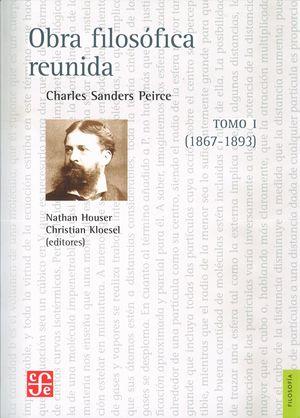 OBRA FILOSOFICA REUNIDA. TOMO I. (1867-1893)