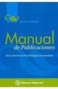 MANUAL DE PUBLICACIONES DE LA AMERICAN PSYCHOLOGICAL ASSOCIATION.