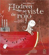 ANDREA SE VISTE DE ROJO