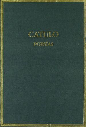 POESIAS CATULO (EDICION BILINGUE)