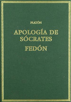 APOLOGÍA DE SÓCRATES; FEDÓN