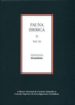 FAUNA IBÉRICA. VOL. 34. NEMATODA RHABDITIDA