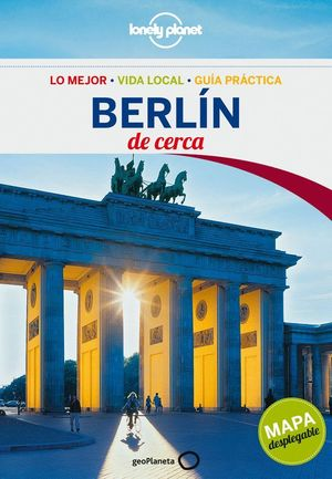 BERLIN DE CERCA LONELY PLANET (2013) + MAPA