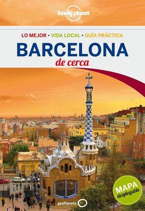 BARCELONA DE CERCA LONELY PLANET (2013) + MAPA