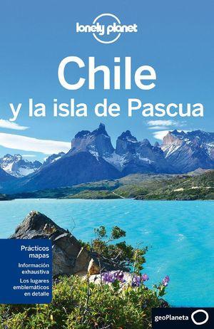 CHILE Y LA ISLA DE PASCUA LONELY PLANET (2013)
