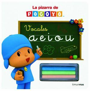LA PIZARRA DE POCOYÓ. VOCALES