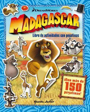 MADAGASCAR LIBRO DE ACTIVIDADES CON PEGATINAS