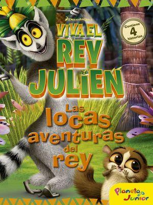 VIVA EL REY JULIEN LAS LOCAS AVENTURAS DEL REY