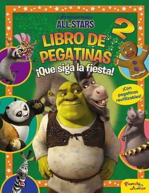 LIBRO DE PEGATINAS 2 ¡QUE SIGA LA FIESTA!
