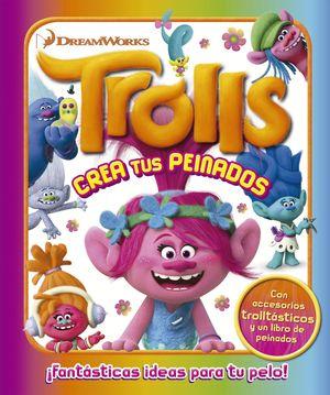 TROLLS CREA TUS PEINADOS (CAJA METALICA)