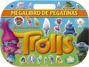 TROLLS MEGALIBRO DE PEGATINAS