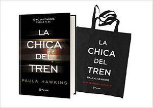 LA CHICA DEL TREN PACK LIBRO + CAMISETA