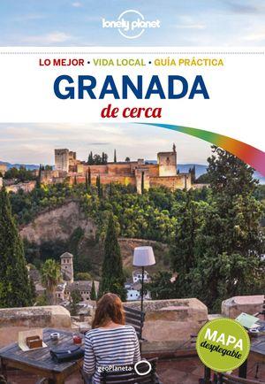 GRANADA DE CERCA LONELY PLANET 2017 (MAPA DESPLEGABLE)